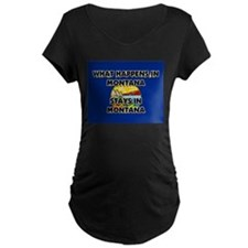 What Happens In MONTANA Stays There T-Shirt