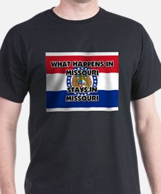 What Happens In MISSOURI Stays There T-Shirt