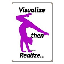 Gymnastics Banner - Visualize