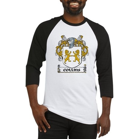 Collins Coat of Arms Baseball Jersey