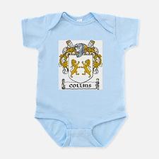 Collins Coat of Arms Infant Bodysuit