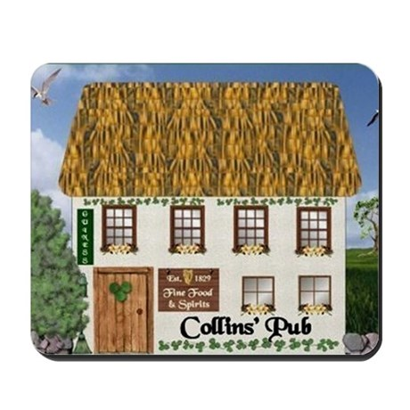 Collins Coat of Arms Mousepad