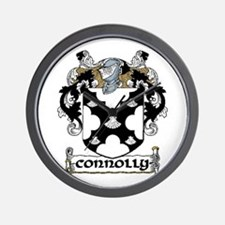 Connolly Coat of Arms Wall Clock