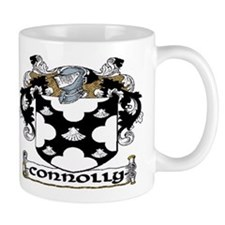 Connolly Coat of Arms Small Mugs