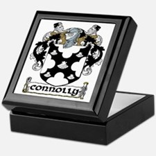 Connolly Coat of Arms Keepsake Box
