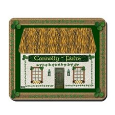 Connolly Coat of Arms Mousepad