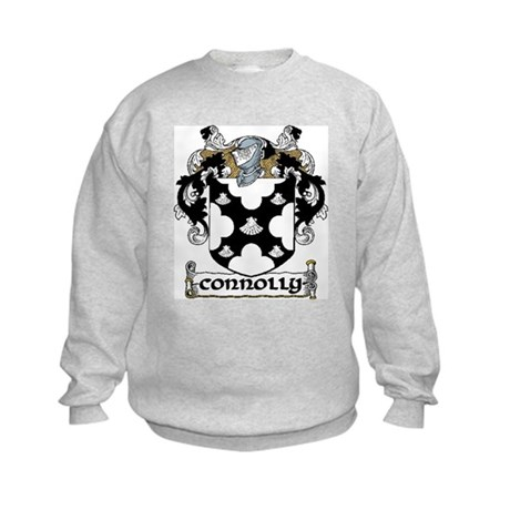 Connolly Coat of Arms Kids Sweatshirt