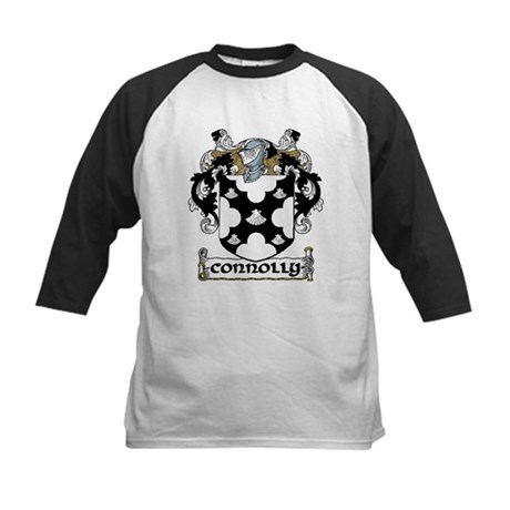 Connolly Coat of Arms Kids Baseball Jersey