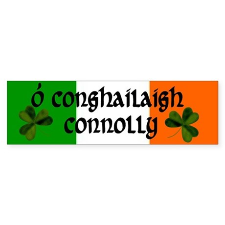 Connolly Coat of Arms Sticker (Bumper)
