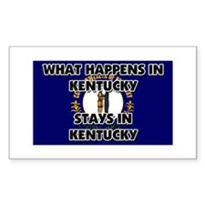 What Happens In KENTUCKY Stays There Decal