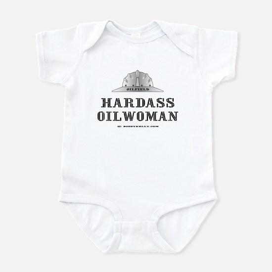 Hardass Oilwoman Infant Bodysuit