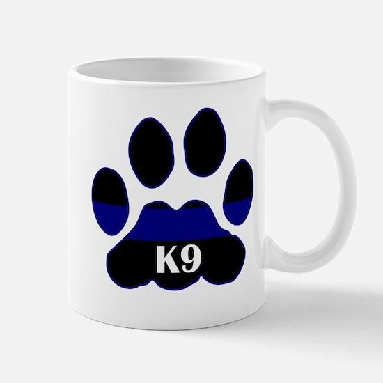 K9 Thin Blue Mug
