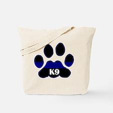 K9 Thin Blue Tote Bag
