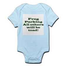 Frog Parking Infant Creeper