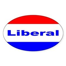 Liberal Oval Decal