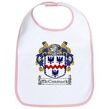 McCormack Coat of Arms Bib