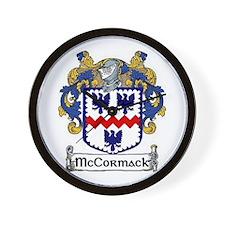 McCormack Coat of Arms Wall Clock
