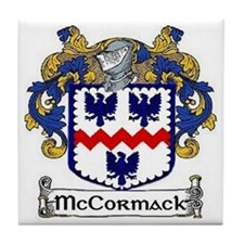 McCormack Coat of Arms Tile Coaster