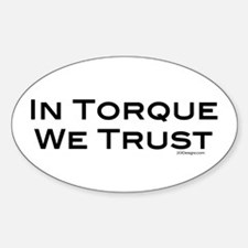 In Torque Oval Decal
