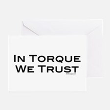 In Torque Greeting Cards (Pk of 10)