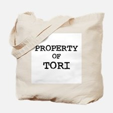 Property of Tori Tote Bag