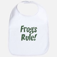 frogs rule! Bib