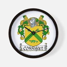 Corrigan Coat of Arms Wall Clock