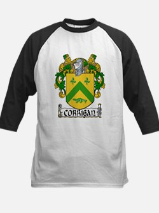 Corrigan Coat of Arms Kids Baseball Jersey