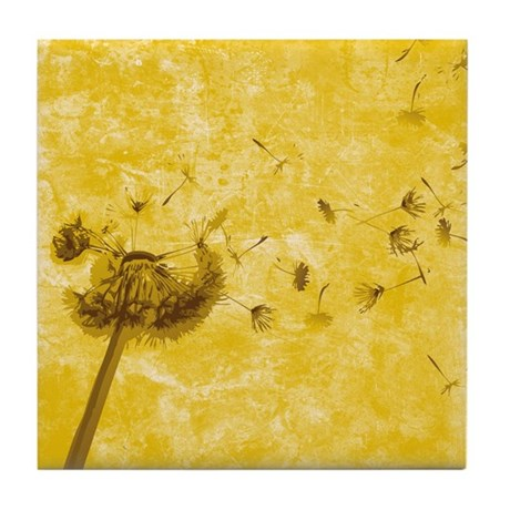 Wish Flower Tile Coaster