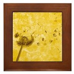 Wish Flower Framed Tile
