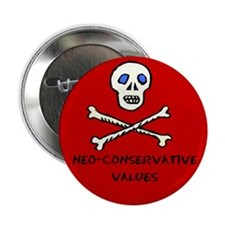 Neo-Conservative Values Button