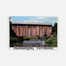 Randolph, Vermont Rectangle Magnet