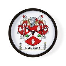 Cullen Coat of Arms Wall Clock