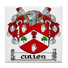 Cullen Coat of Arms Tile Coaster