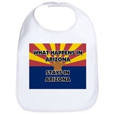 What Happens In ARIZONA Stays There Bib