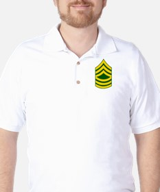 E8 Master Sgt. Chevron Golf Shirt