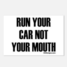 Car Not Mouth Postcards (Package of 8)