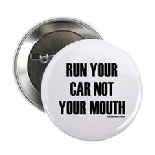 """Car Not Mouth 2.25"""" Button"""