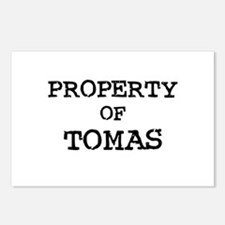 Property of Tomas Postcards (Package of 8)