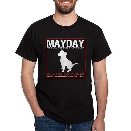 Mayday Pit Bull Rescue & Advo Dark T-Shirt
