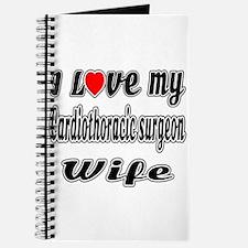 I Love My Cardiothoracic surgeon Wife Journal