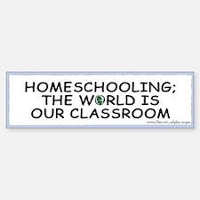 Homeschooling Bumper Bumper Bumper Sticker