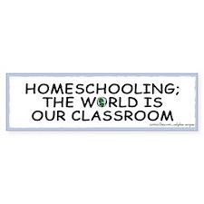 Homeschooling Bumper Bumper Sticker