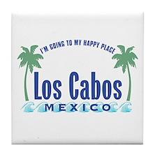 Los Cabos Happy Place - Tile Coaster