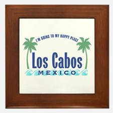 Los Cabos Happy Place - Framed Tile