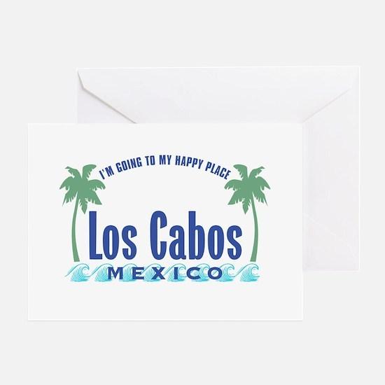 Los Cabos Happy Place - Greeting Card