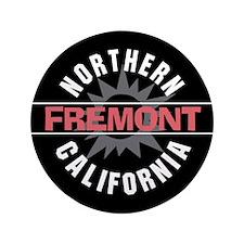 "Fremont California 3.5"" Button"