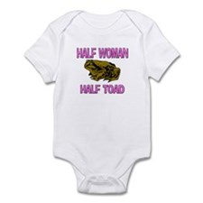 Half Woman Half Toad Infant Bodysuit