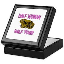 Half Woman Half Toad Keepsake Box