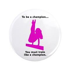 "Gymnastics 3.5"" Buttons (100) - Champion"